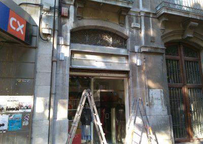 Reformes Joan i Oscar - fachada tienda